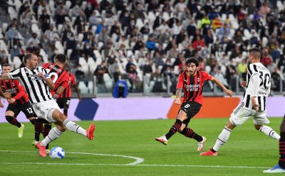 Ювентус и Милан с реми