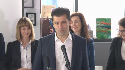 """НА ЖИВО: Василев и Петков представиха """"Продължаваме промяната"""", обмислят коалиция мандатоносител"""