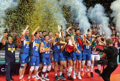 Европа има нов шампион във волейбола