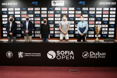 Кузманов, Лазаров и Андреев научиха съперниците си за Sofia Open
