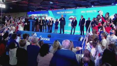 """Изборите в Русия: """"Единна Русия"""" печели парламентарния вот"""