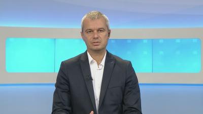 """Партия """"Възраждане"""" издигна лидера си Костадин Костадинов за кандидат-президент"""