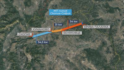 Защо се бави изграждането на пътища между София и Скопие?