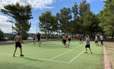 По-различна тренировка за волейболистите преди мача с Чехия