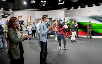 Бъдещи журналисти във второто издание на БНТ Академия (СНИМКИ)