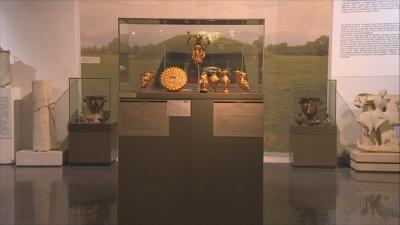 Задържано в Дубай: Копие на Панагюрското златно съкровище