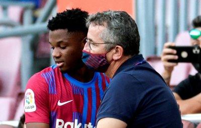 Талант на Барселона спази обещание и посвети гола си