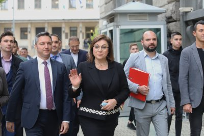 Нинова: Подкрепата ни за Радев - Йотова е окончателна