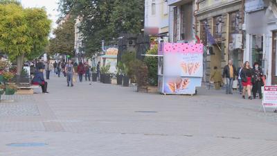 Ще премахнат ли масите на заведенията от тротоарите в Русе?