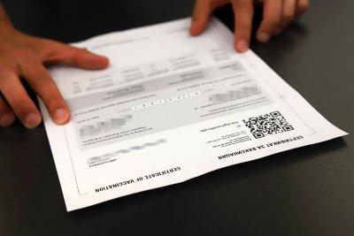 Проверяват сигнал за купуване на фалшиви сертификати за ваксинация в Пловдив