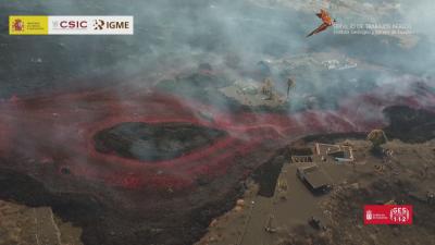 Вулканът на остров Ла Палма изригва още по-силно