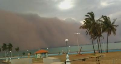 Шест жертви на мощни пясъчни бури в бразилския град Сао Пауло