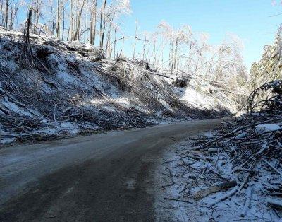 Има ли затворени пътища след снеговалежа?