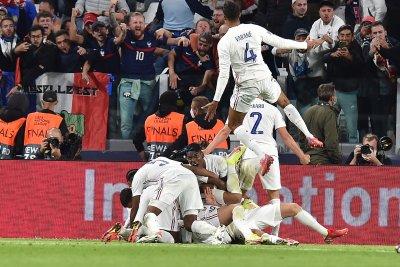 Франция проспа 45 минути, за да се събуди за обрат срещу Белгия
