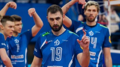 Цветан Соколов и Динамо (Москва) вдигнаха и Суперкупата на Русия