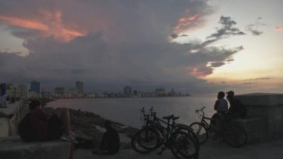 Хавана потъна в сахарски пясък с частици от вулкана на Ла Палма