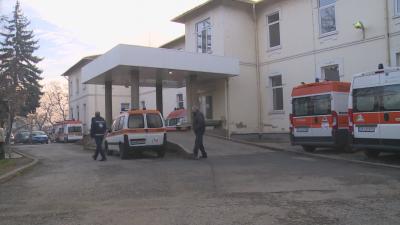 Няма места в интензивното отделение за лечение на COVID-19 в болницата в Благоевград