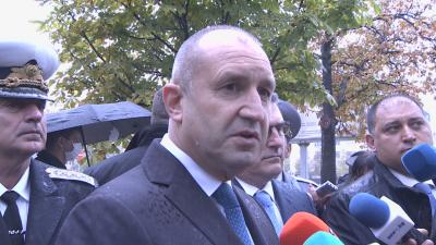 Радев: Ще се реагира по сигнала за поругаването на български военни гробища
