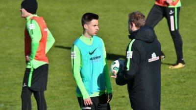 Илия Груев-младши с пълни 90 минути за Вердер (Бремен) във Втора Бундеслига