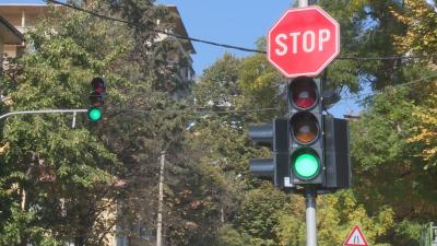 Зеленото на светофарите в Стара Загора вече няма да премигва преди да се смени с жълто