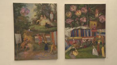 Изложба на Алисия Санча: Творби по време на изолация