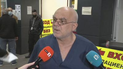 """Шефът на ковид отделението в """"Пирогов"""": Идеолозите на тази заповед да заповядат да лекуват"""
