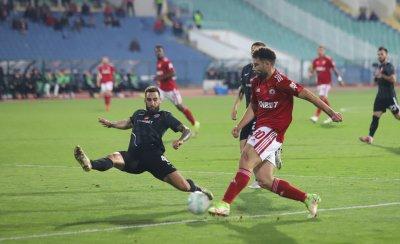 Густаво Бусато заслужи точка на ЦСКА срещу Берое
