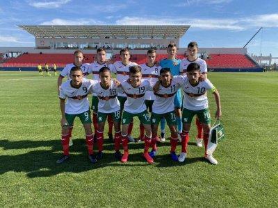България U17 се класира за елитния етап на квалификациите за Евро 2022