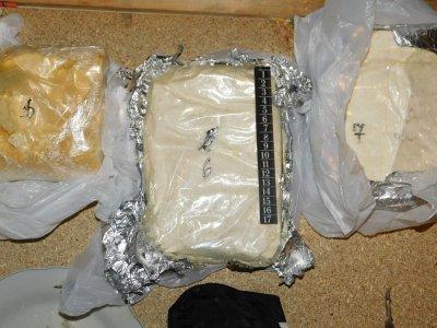 Заловиха мъж с над 3 кг метамфетамин в Кубрат, седнал зад волана дрогиран