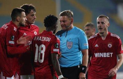 УЕФА наложи сериозни санкции на ЦСКА