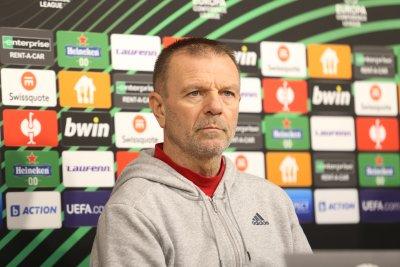 Стойчо Младенов: Ще търсим победата на всяка цена, искам феновете да напълнят стадиона