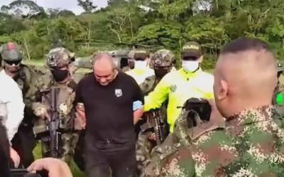 Заловиха най-издирвания наркотрафикант в Колумбия