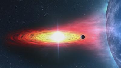Откриха първата екзопланета извън Млечния път
