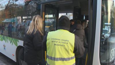 Проверка на БНТ: Маските в градския транспорт в София не се носят правилно
