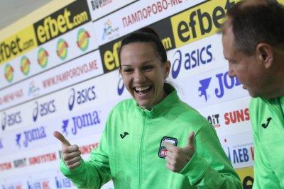 Станимира Петрова се готви за нова битка