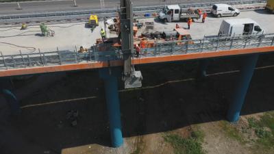 """МВР снима с дронове АМ """"Хемус"""", за да види дали има нарушения по строежа"""