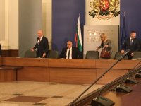 снимка 6 Среща на премиера Борисов и министри с превозвачите
