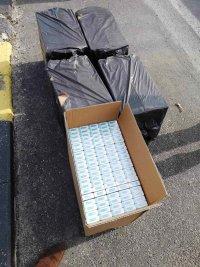 Хванаха контрабандни цигари при полицейска акция във Варненско