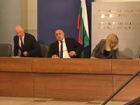снимка 2 Среща на премиера Борисов и министри с превозвачите