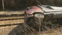 Преобърнат ТИР блокира ЖП линията между Бяла и Полски Тръмбеж