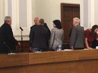 снимка 4 Среща на премиера Борисов и министри с превозвачите