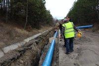 Изградени са 8 км от водопровода към Перник