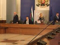 снимка 1 Среща на премиера Борисов и министри с превозвачите