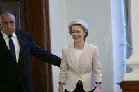 Премиерът Борисов разговоря по телефона с Урсула фон дер Лайен и Шарл Мишел