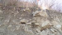 Три села остават откъснати от света при активизиране на опасно свлачище