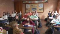 Уроци онлайн и по телевизията за децата в Белгия