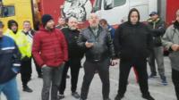 Български шофьори на ТИР-ове се оплакаха, че са блокирани между Италия и Словения