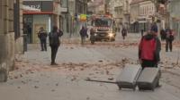 Силно земетресение по време на пандемия в Хърватия