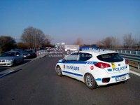 Засилен трафик и опашки в първия ден с КПП-та на изходите на София