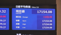 Покачване на основните борсови индекси в Азия